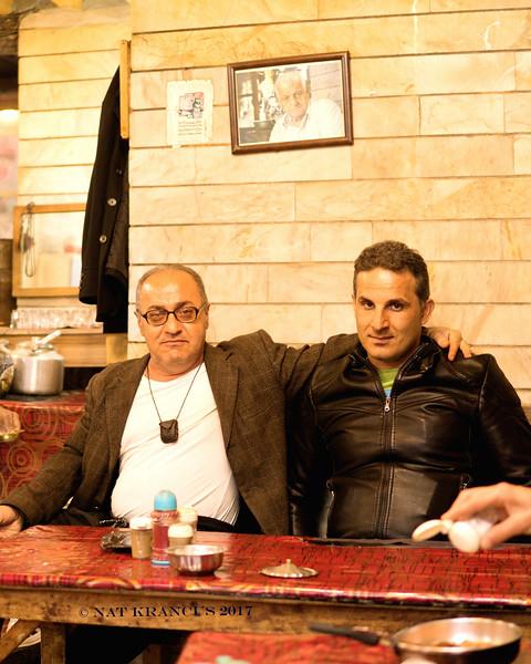 Men in a Teahouse, Masouleh, Iran, 2016