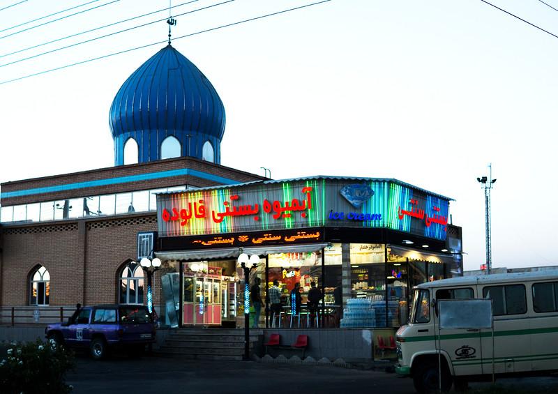 Truck Stop North of Tehran