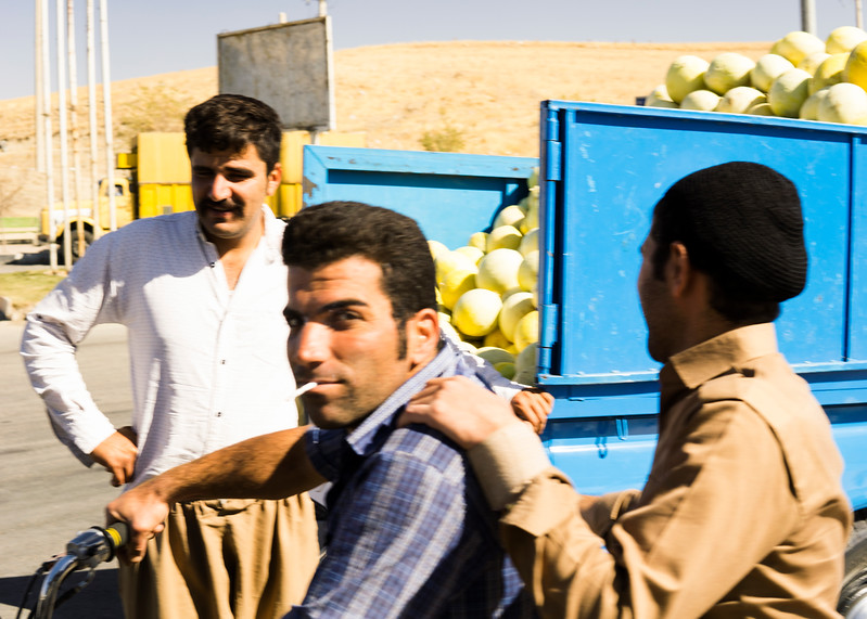 Kurdish Men in Divandarreh