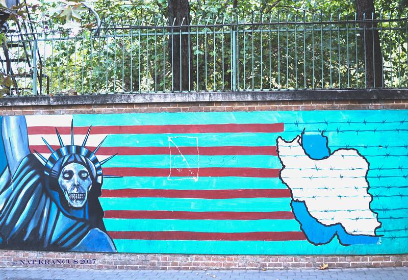 Former American Embassy, Tehra, Iran, 2016