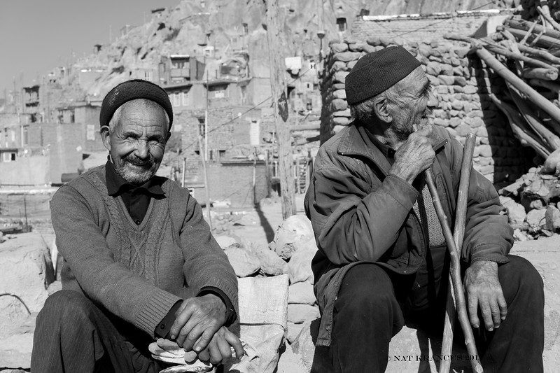 Men in Kandovar, Iran, 2016
