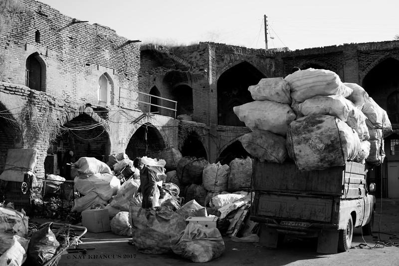 An Old Caravanserai in Qazvin, Iran, 2016