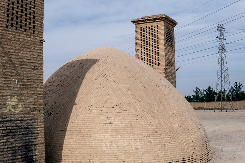 Wind Tower in Yazd, Iran, 2016
