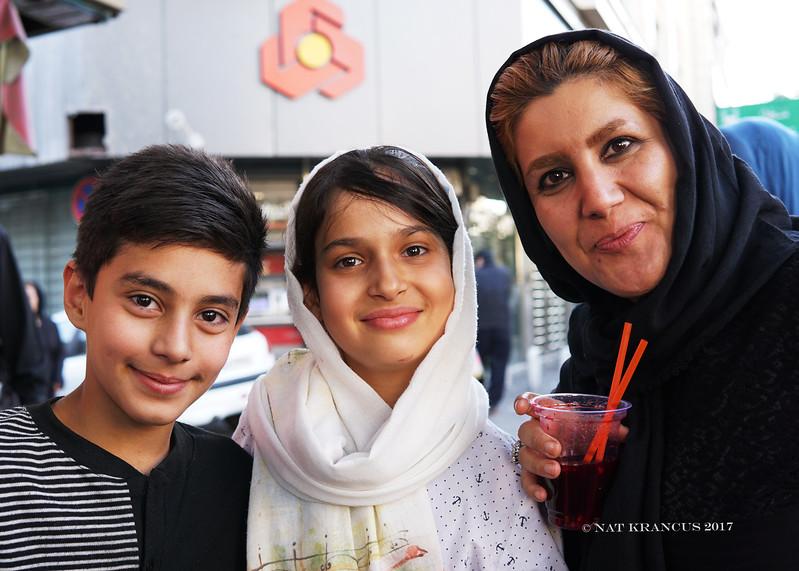 Family in Tehran
