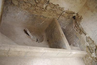 Pałacyk w Maku - jacuzzi (wodę podgrzewali rozżażonymi węglami, co do bąbelków - nie mamy pewności)