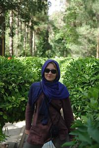 Ogród botaniczny w Shirazie