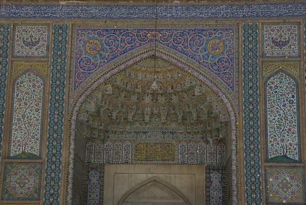 Meczet w Shiraz - jako ze jestesmy w autobusie to nie bardzo mamy jak sprawdzic :)