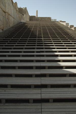 Imponujace schody - po nich wchodzili królowie na koronacje