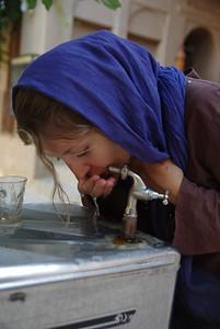W iranie woda pitna jest wszędzie i dotego świetnie schłodzona