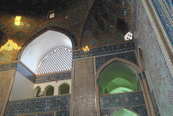 Meczet - niestety wieże były w remoncie