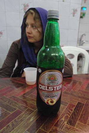 Specjalnie dla Grupsa - jedyne piwo jaki można oficjalnie dostac w Iranie, oczywiscie 0%