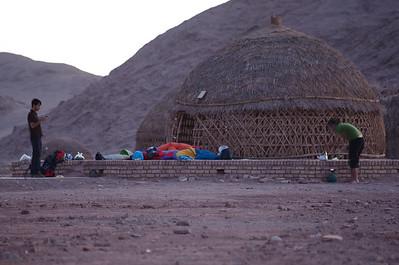 Kemping na pustyni