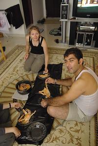 Gotowane kraby na przystawke