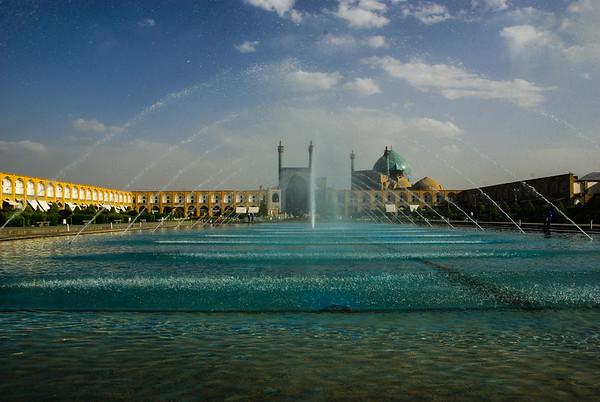 Imam Square w Esfahan