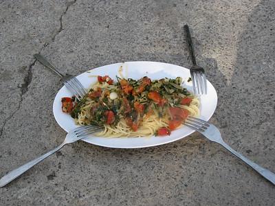 Jedzonko - podane dla lokalsów