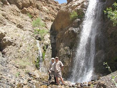 Wodospad niedostępny dla normalnych turystów, jakis 30 minut od głównego szlaku