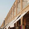 Souvenir stands line Imam Square