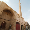 The quiet streets surrounding the Jameh Mosque