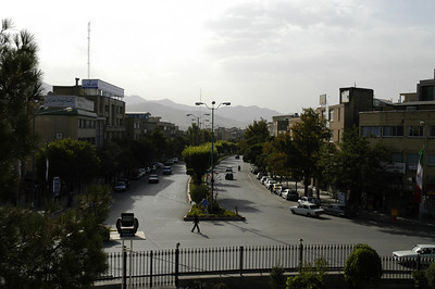 A view of Hamadan city - from the tomb of Bu Ali Seena (Avecina).