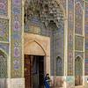 Shiraz ( Iran) : Mosquee rose / Mosquita Roaz