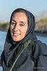 Persian woman, Zayandeh River, Isfahan, Iran