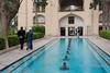 Spring-fed reflecting pool, Shotor Galou-e-Shah Abbasi, Bagd-e-Fin, Kashan, Iran