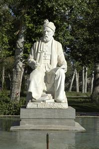 Firdowsi's statue.