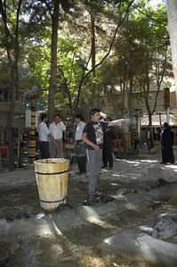 Padeeda Restaurant, Shandeez, Mashshad, Iran.
