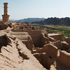 The abandoned palace complex of Karanaq