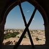 Inside the Meybod Citadel
