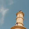Yann wasn't brave enough to climb into the minaret of the Karanaq Mosque