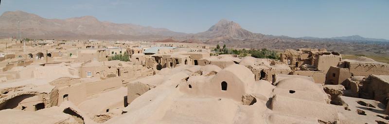 View from the Karanaq Mosque's minaret