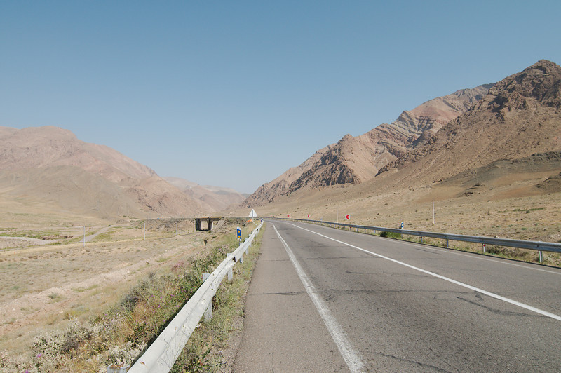 It's hot and dry but the climbs are pretty gradual