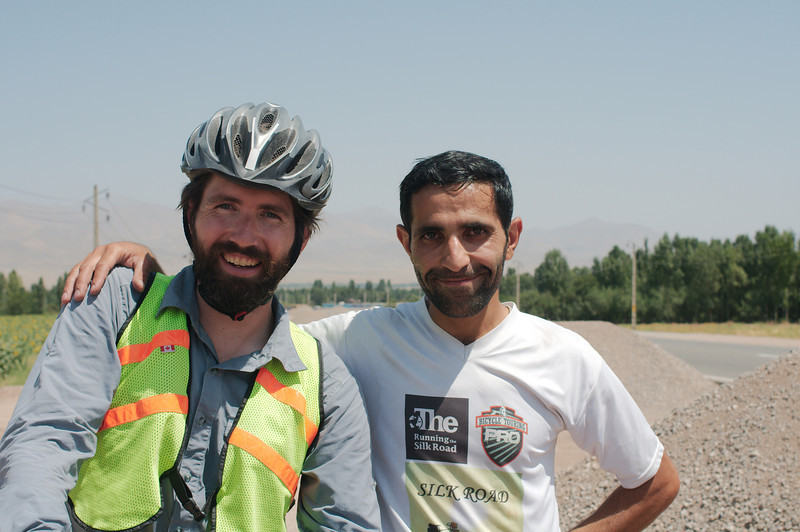 Akbar has greeted hundreds of cyclists as they enter Iran from either Turkey or Armenia and pass through his hometown of Marand