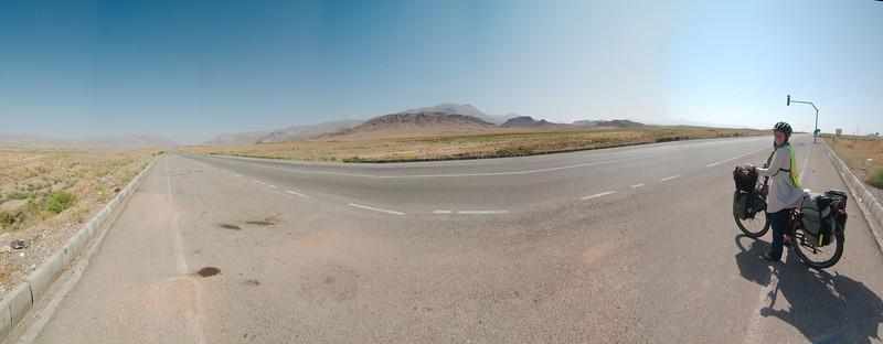 On the way to Marand from Jolfa
