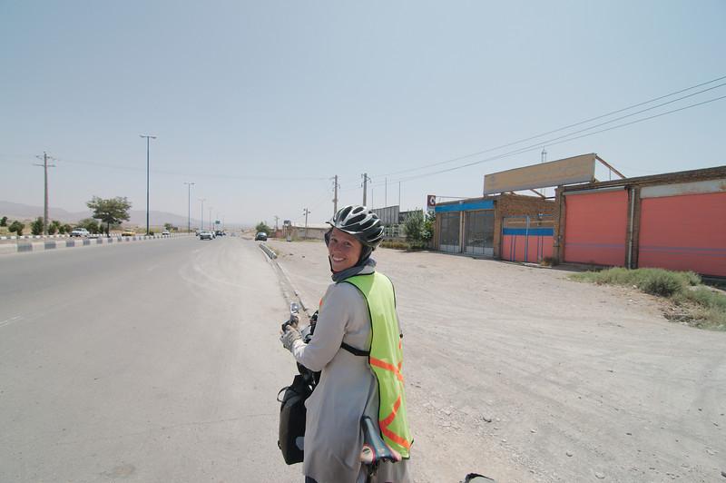 Approaching Tabriz