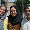 Jasmine and her father, English teachers in Jolfa who helped us find a hotel