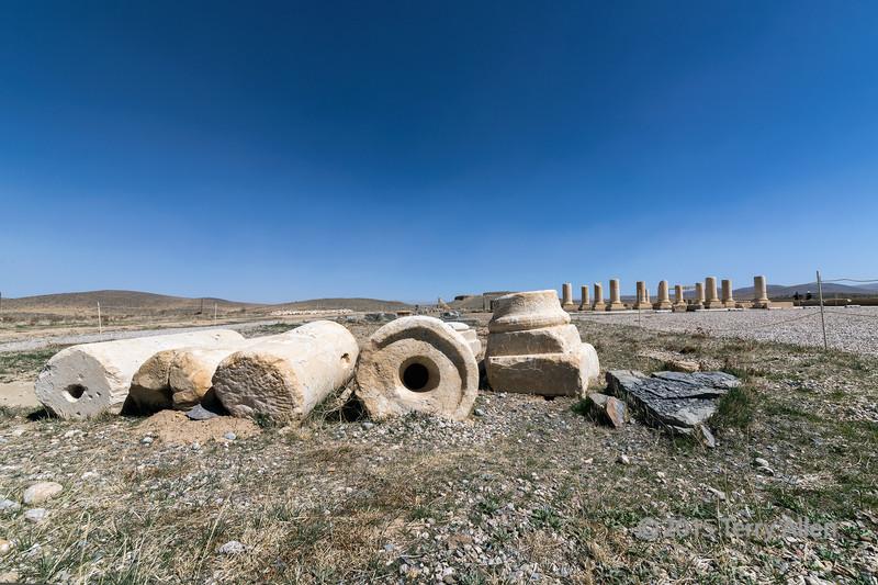 Residential palace (Palace P) of Cyrus the Great (559-530 BC), Pasargadae, Iran