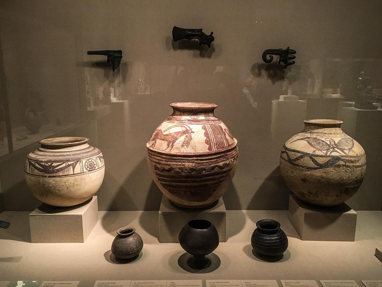Pottery:  4-2 Millenium BCE