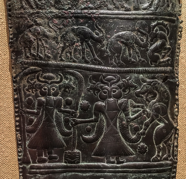 Quiver Plaque with Mythological Scenes