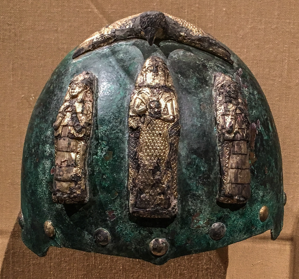 Helmet with Divine Figures