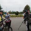 Being interviewed in Astara