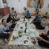 Dinner at Sam and Zahra's with Azim and his family