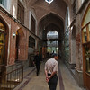 The covered halls of the Tabriz Bazaar