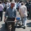 Leaving the Tabriz Bazaar