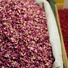 Flower tea and barberries at the Tabriz Bazaar