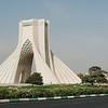 Tehran's iconic Azadi Gate