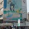 Revolutionary murals adorn many of Tehran's buildings