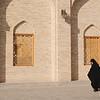 Leaving the Masjid-e Jame