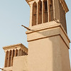 The iconic Yazd wind catchers